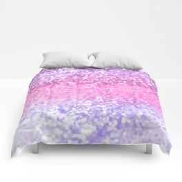 Unicorn Girls Glitter #2 #shiny #decor #art #society6 Comforters