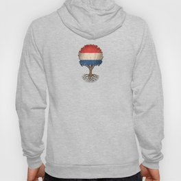 Vintage Tree of Life with Flag of The Netherlands Hoody