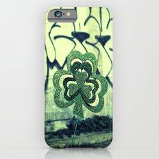 Gritty alley shamrock Slim Case iPhone 6s