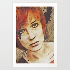 Miss Understood Art Print