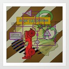 Compensatorial Art Print