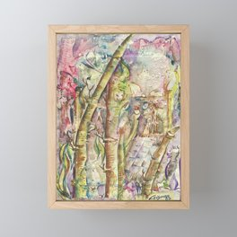 Bamboo Spirits Framed Mini Art Print