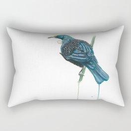 The Parson Bird aka Tui Rectangular Pillow