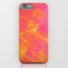 Pink and Orange Stripes Slim Case iPhone 6s