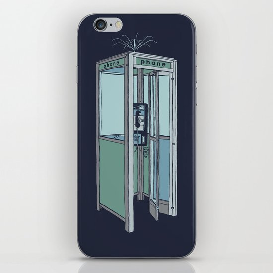 San Dimas Telecoms iPhone & iPod Skin