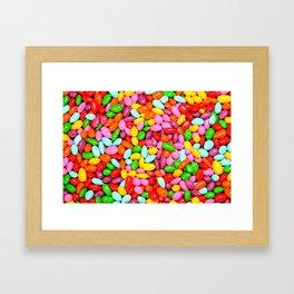 I Want Candy Framed Art Print