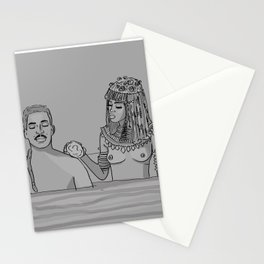 The royal penis is clean, your Highness. Stationery Cards