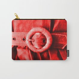 Red Vintage bElt Carry-All Pouch