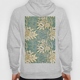 William Morris Tulip and Willow Pattern Hoody