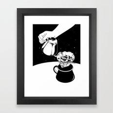 Drip to Dream Framed Art Print