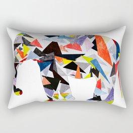 geometric patterns, elephant Rectangular Pillow