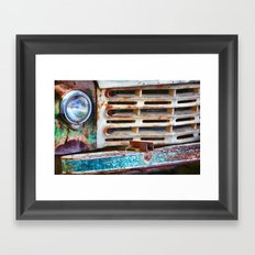 Colorful Grill Framed Art Print