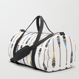Painted Oars Duffle Bag