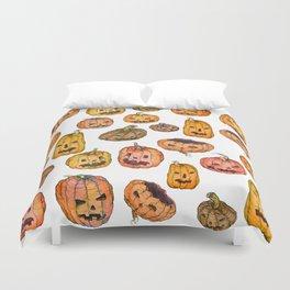 Halloween Pumpkin Party Duvet Cover