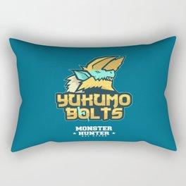 Monster Hunter All Stars - The Yukumo Bolts Rectangular Pillow