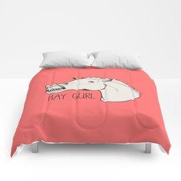HAY GURL. Comforters