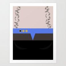 Jadzia Dax - Minimalist Star Trek DS9 Deep Space Nine - startrek - Trektangle - Trektangles Art Print
