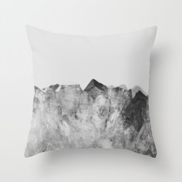 Crystal Soul Geode Throw Pillow