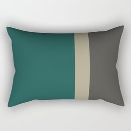 Bold Forest And Grey Rectangular Pillow