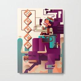 RODEO Metal Print