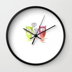 Woot Woot. Wall Clock
