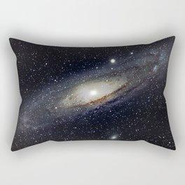 Andromeda Galaxy Rectangular Pillow