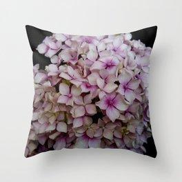 white flower 19 Throw Pillow