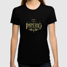 Harry Potter Curses: Imperio Black SMALL Womens Fitted Tee