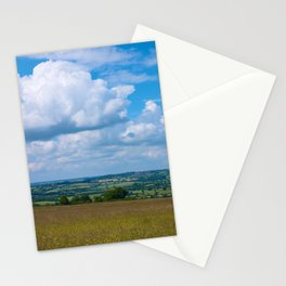 Looking across the Cotswolds, England Stationery Cards