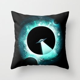 Black Hole Sightings Throw Pillow