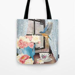 Country Bluebird Tote Bag
