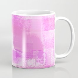 Pink Out, Painted Plaid I Coffee Mug