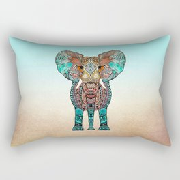 BOHO SUMMER ELEPHANT Rectangular Pillow