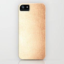Simply Deep Bronze Amber iPhone Case
