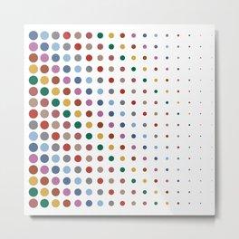 Dots XL2S Autumn Color - Living Hell Metal Print