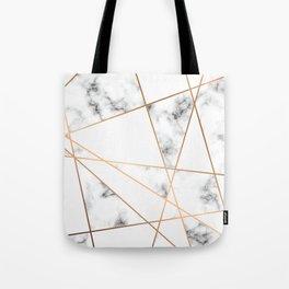 Marble Geometry 054 Tote Bag