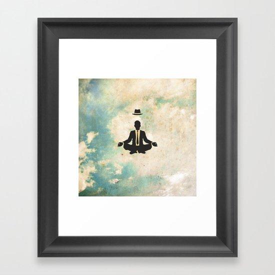 Time Off Framed Art Print