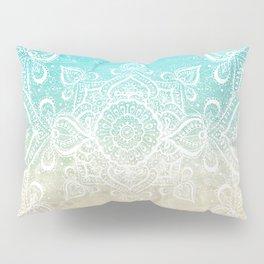 Beach Mandala Pillow Sham