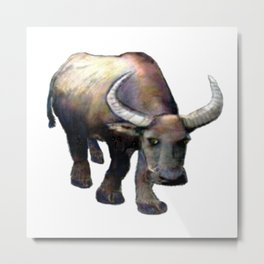 Ox jGibney The MUSEUM Society6 Gifts Metal Print
