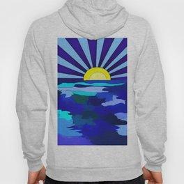 Sunset On The Lake Hoody