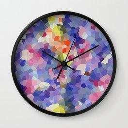 Cosmic Moon Space Iris Romance Wall Clock