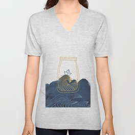 Bottled Sea Unisex V-Neck
