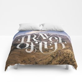 Travel to the Mountains Comforters