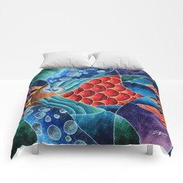 ELETRIC FISH Comforters