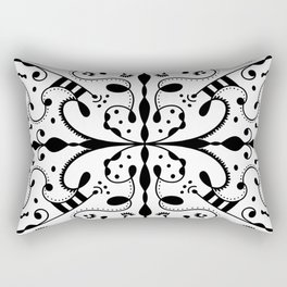 Lashes and Dots Rectangular Pillow