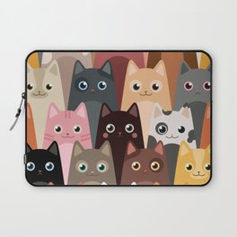 Cats Pattern Laptop Sleeve