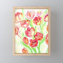 Mothers Day Tulips Framed Mini Art Print