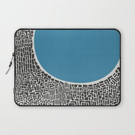 Abstract Blue Lake Laptop Sleeve