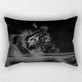 Just lazing about Rectangular Pillow