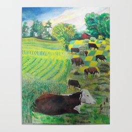 A cow's dream Poster